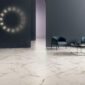 LEA delight calacatta oro marble effect porcelain stoneware wall and floor tiles